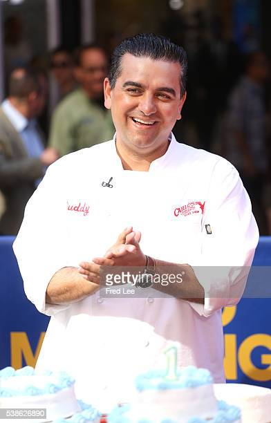 AMERICA Cake Boss Buddy Valastro is a guest on 'Good Morning America' 6/6/16 airing on the ABC Television Network BUDDY
