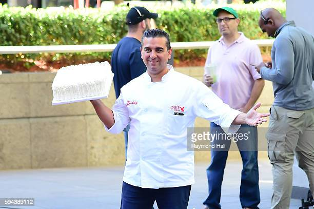 Cake Boss is sen on the set of Fox in Midtown on August 23 2016 in New York City