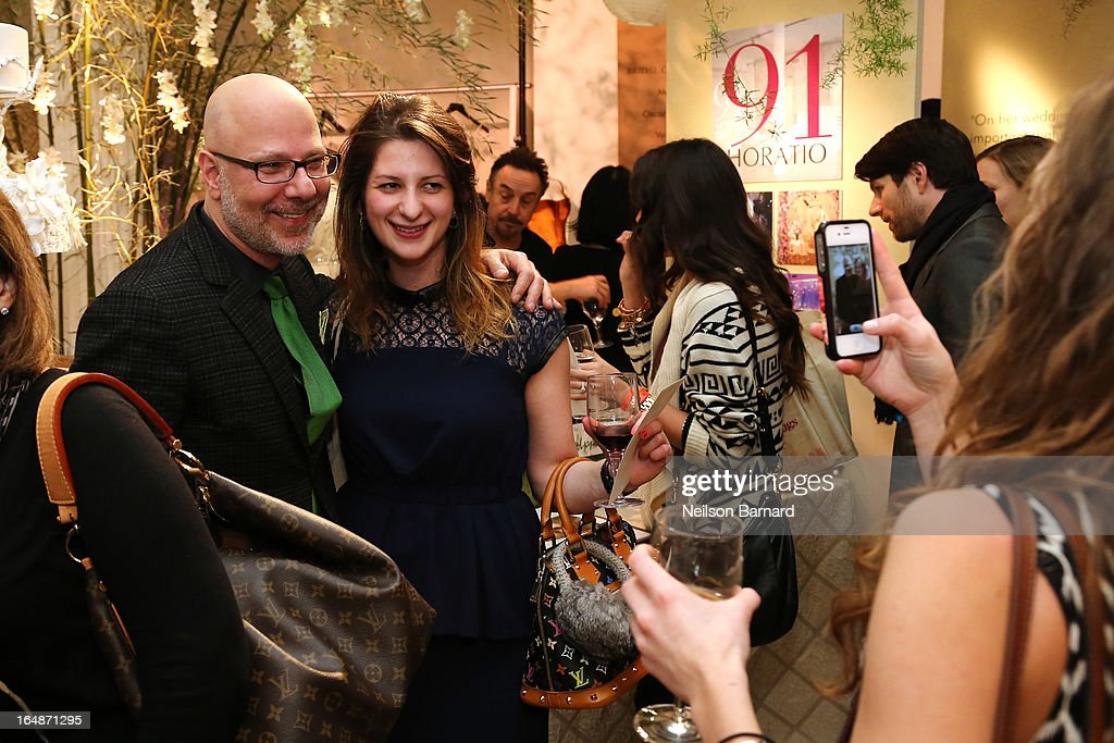 Cake designer Ron Ben-Israel attends the New York Magazine Weddings event at Metropolitan Pavilion on March 28, 2013 in New York City.