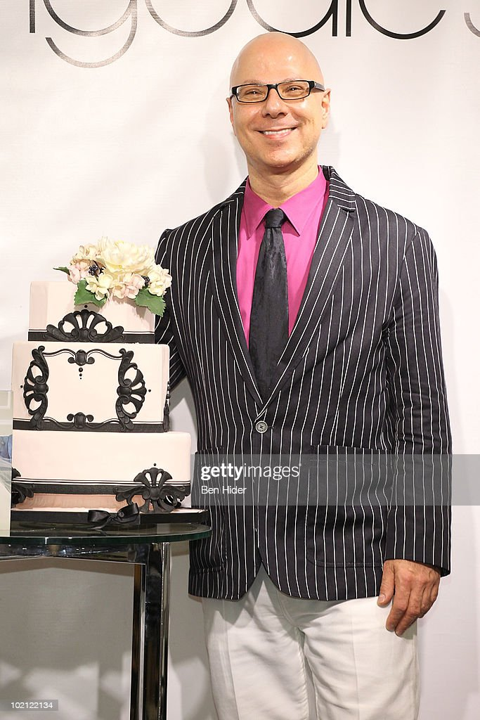 Cake Designer Ron Ben-Israel visits Bloomingdale's 59th Street Store on June 15, 2010 in New York City.