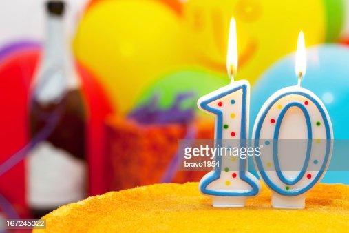 Cake for 10st birthday