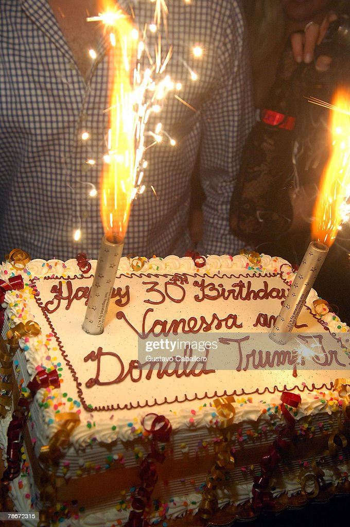 Donald Trump Jr and Vanessa Trump Birthday Party At Mansion