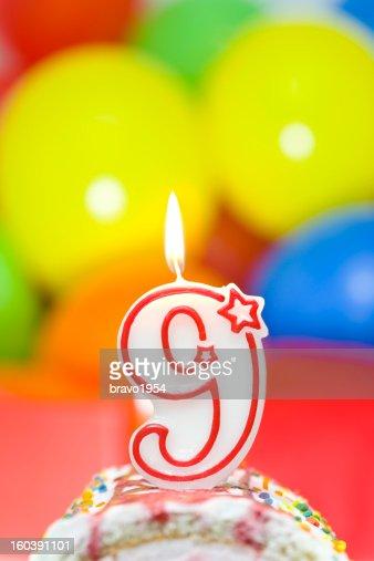cake for ninth birthday