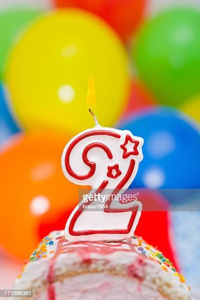 Torta di compleanno per secondo