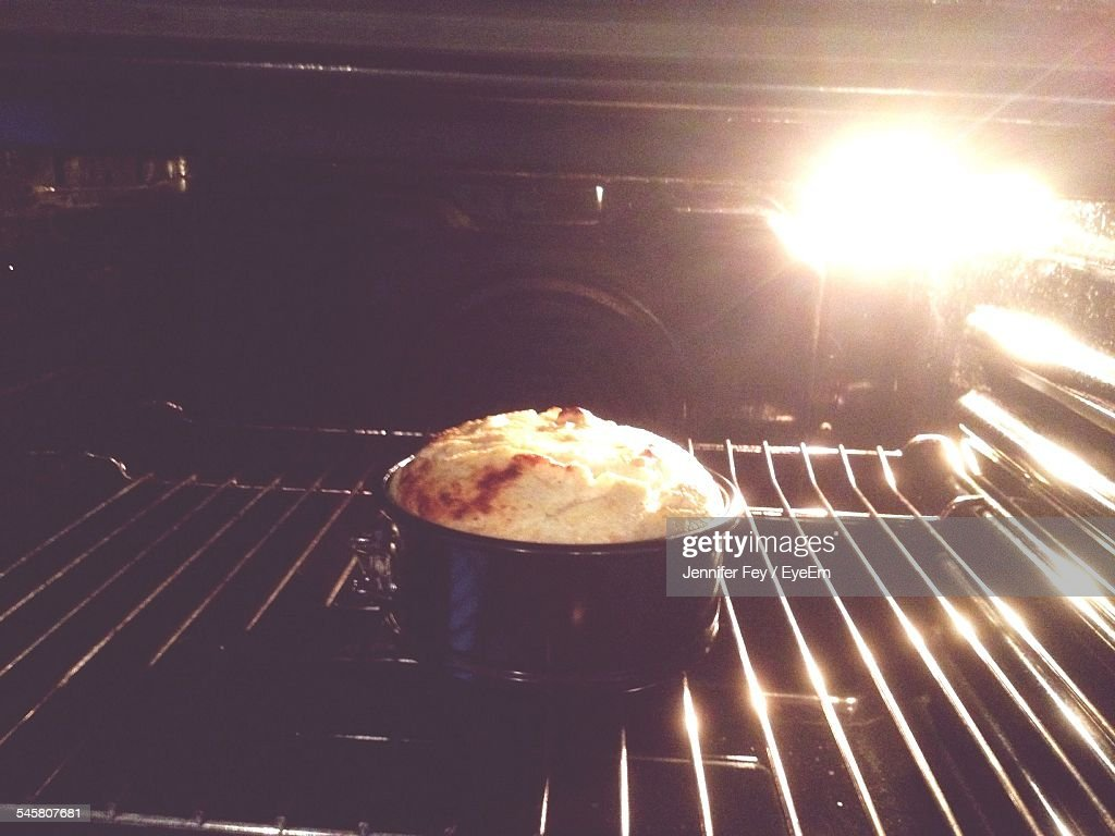Cake In Oven