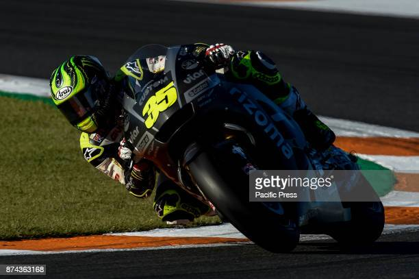Cal Crutchlow during Motogp test day at Valencia circuit