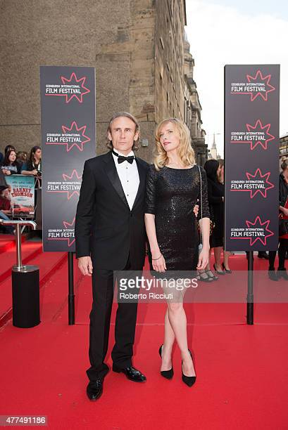 Cal Macaninch and Shauna McDonald attends the Opening Night Gala and World Premiere of 'The Legend of Barney Thomson' during the Edinburgh...