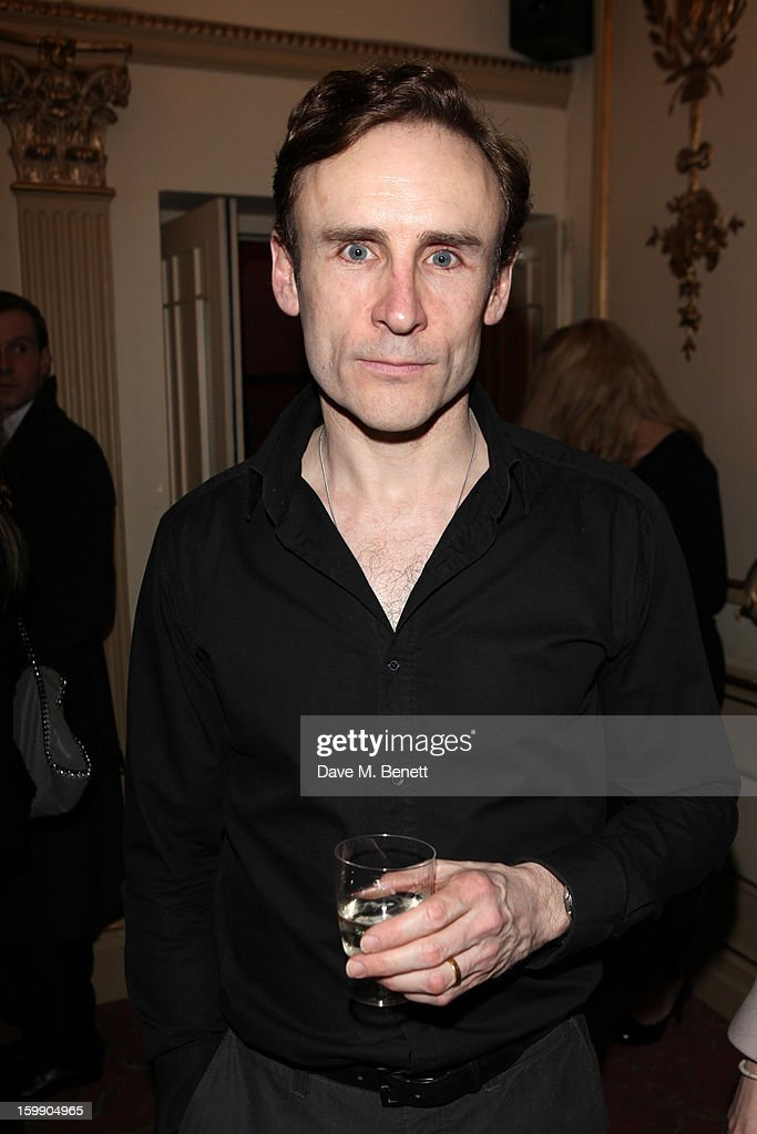 Cal Macaninch attends the press night for 'The Judas Kiss' at Duke of York's Theatre on January 22, 2013 in London, England.