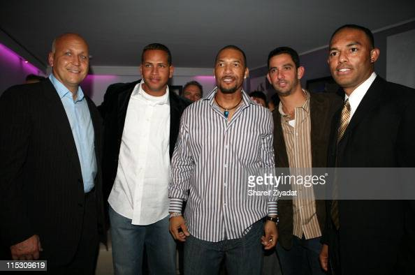 Cal Ripken Jr Alex Rodriguez Gary Sheffield Jorge Posada and Mariano Rivera