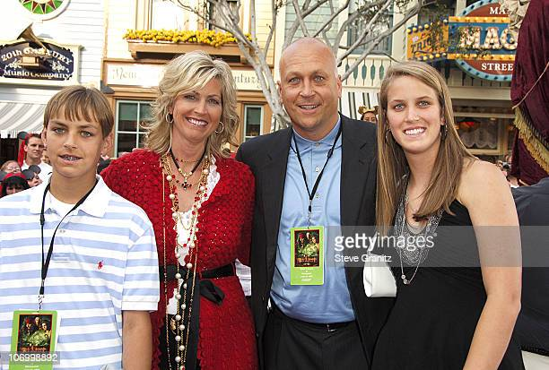 Cal Ripken Jr and family during World Premiere of Walt Disney Pictures' 'Pirates of the Caribbean Dead Man's Chest' Arrivals at Disneyland in Anaheim...