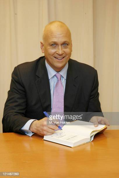 Cal Ripken Jr during Cal Ripkin bookstore appearance at Barnes Noble in New York NY United States