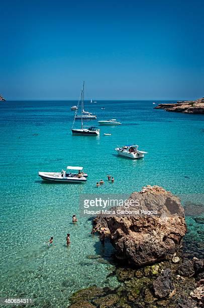 Cala Comte beach