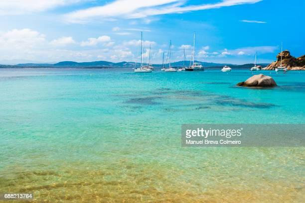 Cala Corsara, island of Spargi, La Maddalena Archipelago, Sardinia, Italy