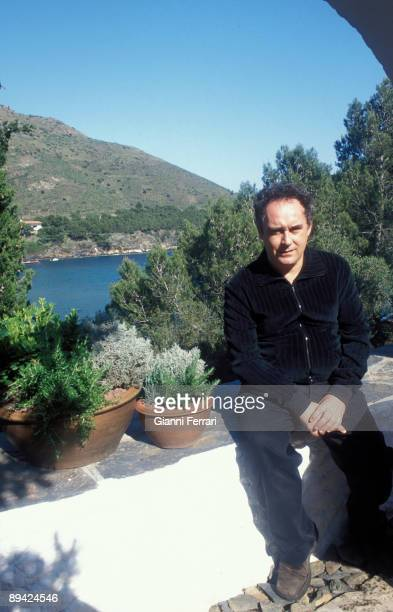 Cala Montjoy Figueras Portrait of Ferran Adria cook
