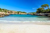 Cala Sa Nau - beautiful bay and beach on Mallorca, Spain -  vacation in Europe