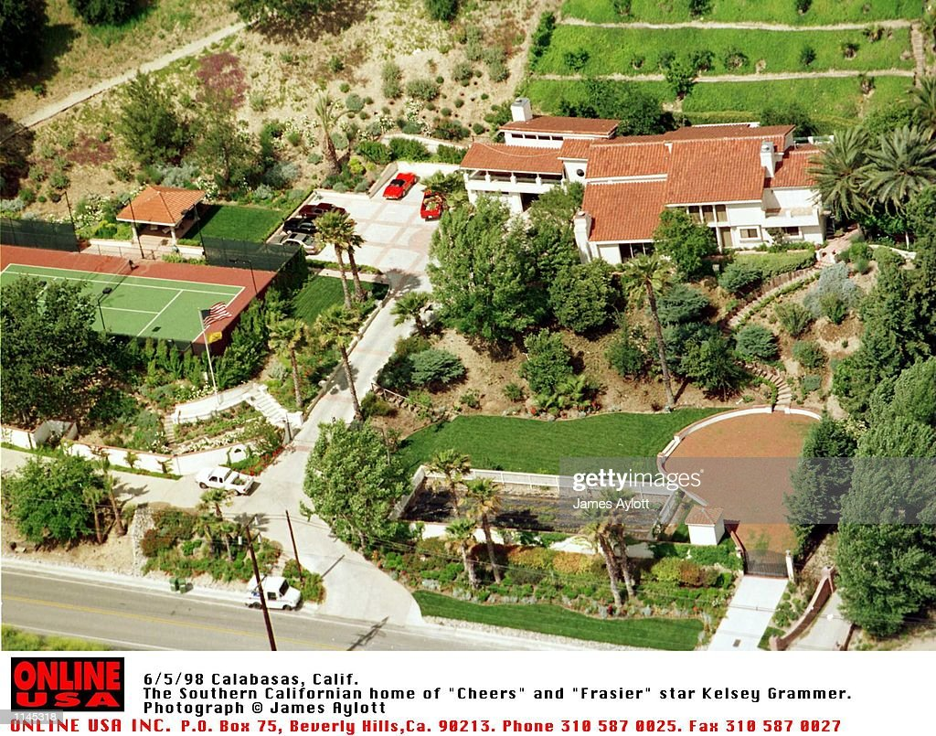Calabasas Calif The Hollywood Hills Home of Kelsey Grammer