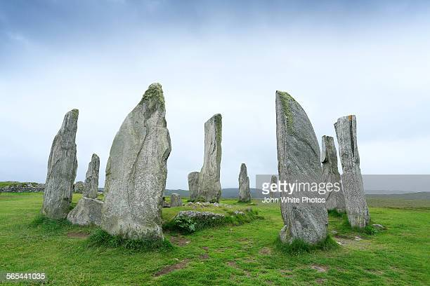 Calabash Standing Stones. Outer Hebrides.