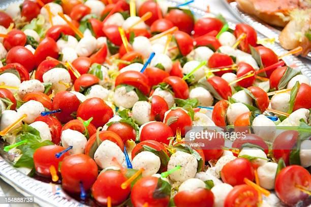 calabrese Tomate Mozzarella Spieße
