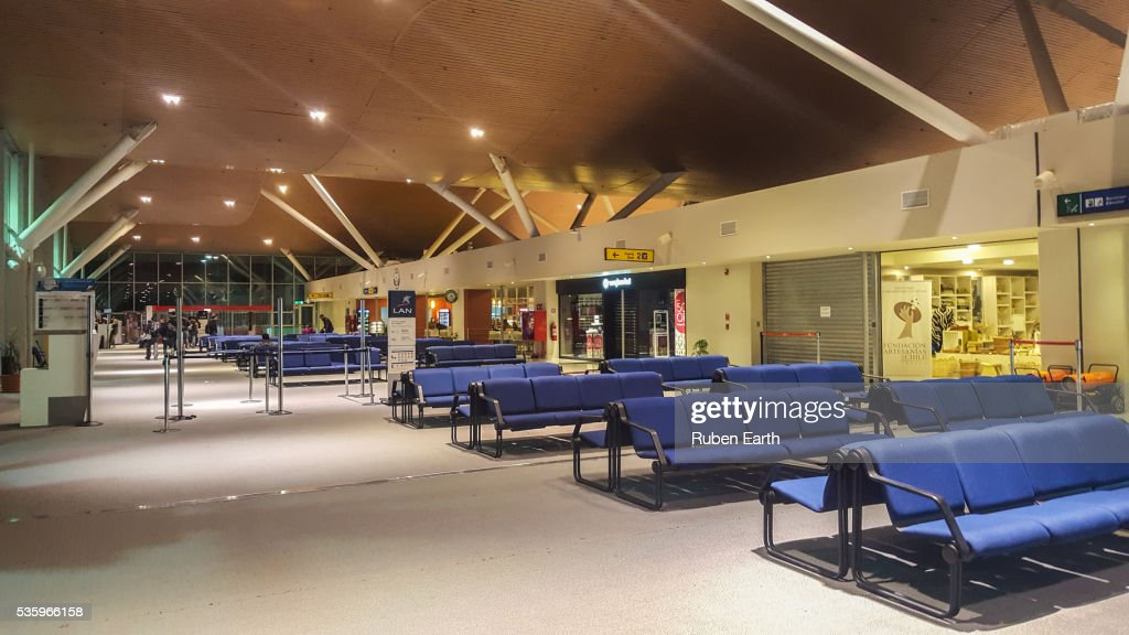Calama Airport terminal : Stock Photo