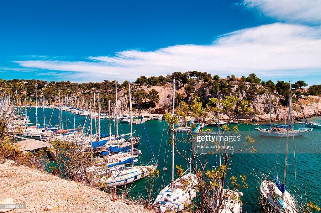 Calanque De Port Pin Provence France