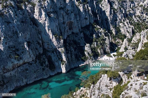 Calanque D'envau Provence France