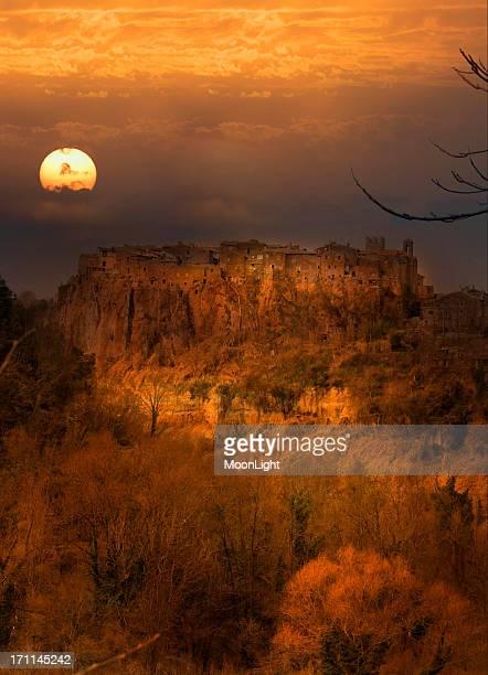 Calcata - dreams at sunset