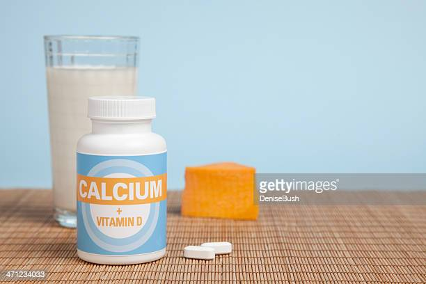 Calcium Tablets, Cheese & Milk