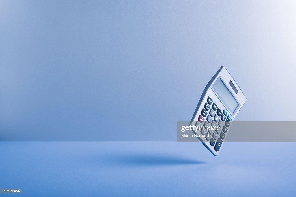 Calculator falling