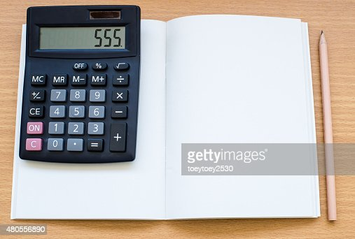 Calculator in  business concept. : Stock Photo
