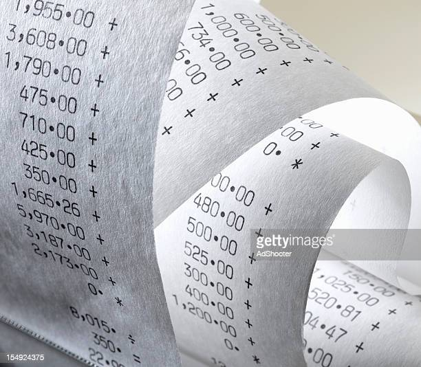 Calculator Paper Roll