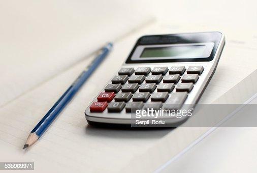 Calculadora : Foto de stock