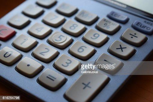 Calculator. : Stock Photo
