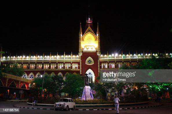 Calcutta High Court Building is illuminated on April 20 2012 in Kolkata India The Calcutta high court is celebrating as it turns 150 years Formerly...