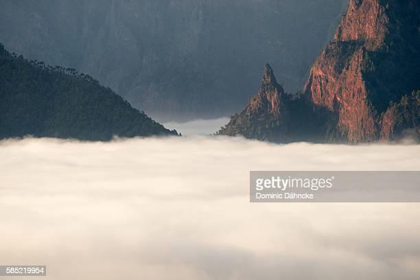 'Caldera de Taburiente' National Park view (La Palma island. Canaries. Spain)