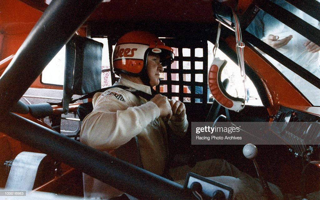 Cale Yarborough gets ready to start the Oakwood Homes 500. Yarborough would flip his car on the 84th lap, finish 36th and take home $1,490 for the race.