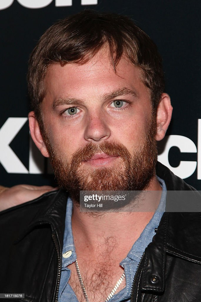 <a gi-track='captionPersonalityLinkClicked' href=/galleries/search?phrase=Caleb+Followill&family=editorial&specificpeople=210594 ng-click='$event.stopPropagation()'>Caleb Followill</a> attends the Klipsch Audio And Kings Of Leon Host 'Mechanical Bull' Listening Party at the Electric Room at Dream Downtown on September 23, 2013 in New York City.