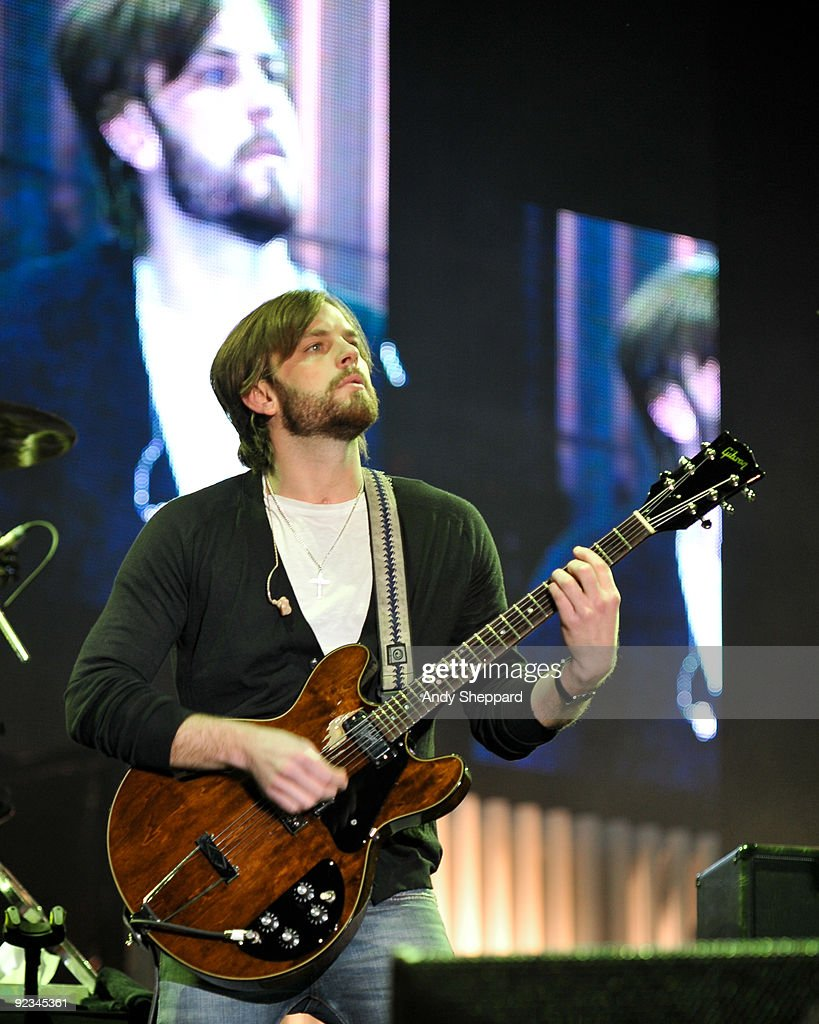 Caleb Followill of Kings of Leon performs on stage on Day 1 of Austin City Limits Festival 2009 at Zilker Park on October 2, 2009 in Austin, Texas.U.S.A