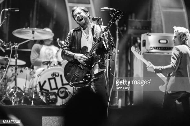 Caleb Followill of music group Kings of Leon performs onstage during the iHeartRadio Music Festival at TMobile Arena on September 23 2017 in Las...