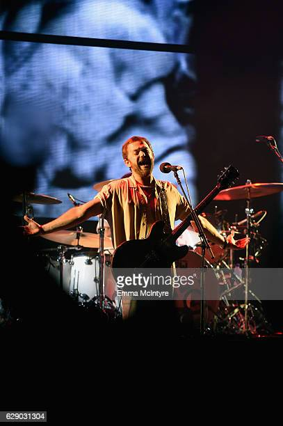 Caleb Followill of the band Kings of Leon performs onstage at 1067 KROQ Almost Acoustic Christmas 2016 Night 1 at The Forum on December 10 2016 in...