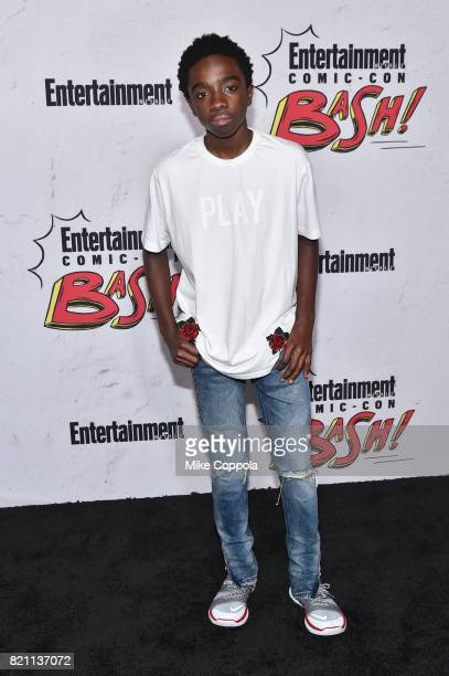 Caleb McLaughlin at Entertainment Weekly's annual ComicCon party in celebration of ComicCon 2017 at Float at Hard Rock Hotel San Diego on July 22...