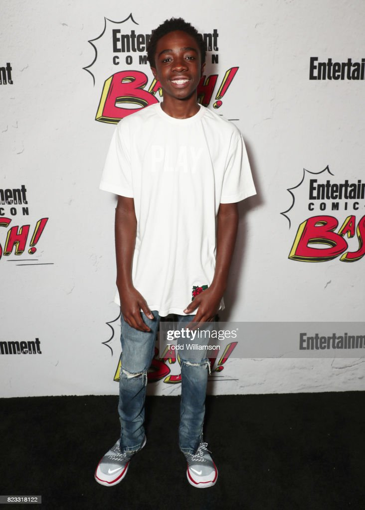Caleb McLaughlin at Entertainment Weekly's annual Comic-Con party in celebration of Comic-Con 2017 at Float at Hard Rock Hotel San Diego on July 22, 2017 in San Diego, California.