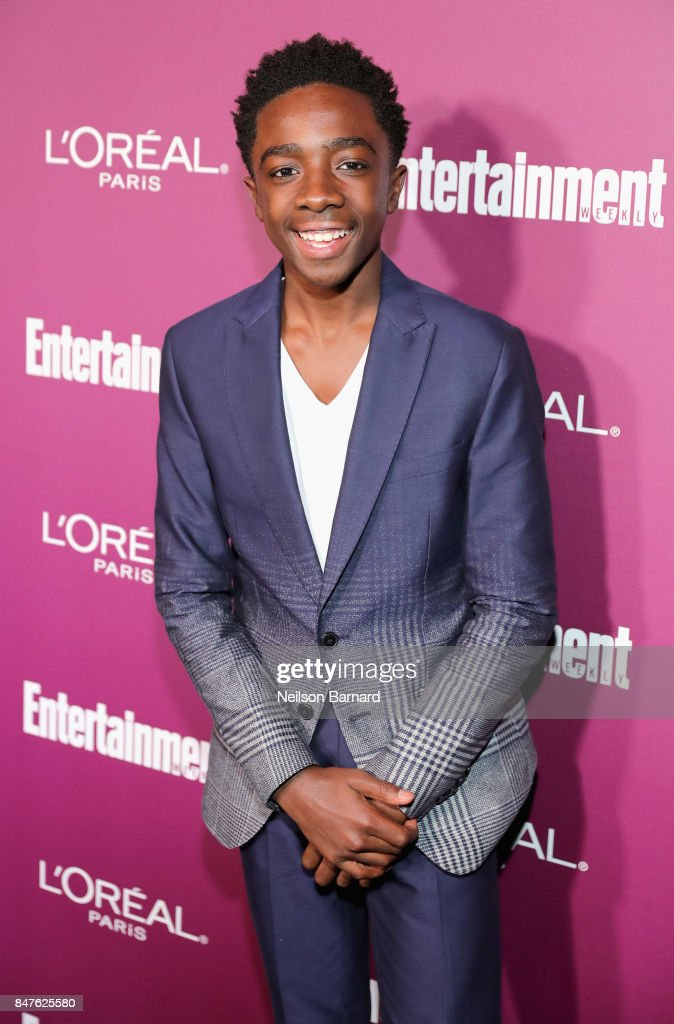 Caleb McLaughlin attends the 2017 Entertainment Weekly Pre-Emmy Party at Sunset Tower on September 15, 2017 in West Hollywood, California.