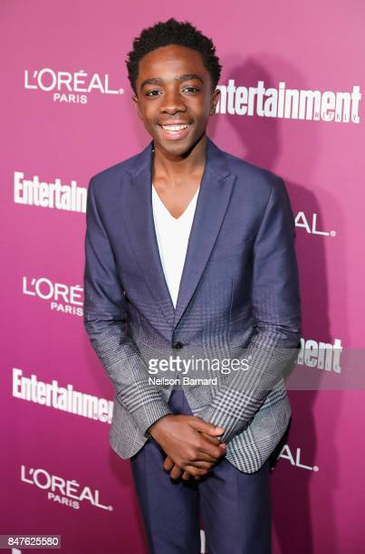 Caleb McLaughlin attends the 2017 Entertainment Weekly PreEmmy Party at Sunset Tower on September 15 2017 in West Hollywood California