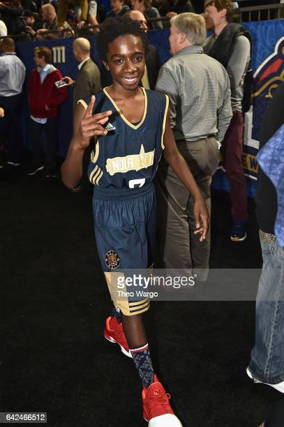 Caleb McLaughlin attends the 2017 NBA AllStar Celebrity Game at MercedesBenz Superdome on February 17 2017 in New Orleans Louisiana