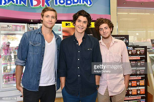 Caleb Ruminer Jesse Henderson and Jesse Carere attend MTV's 'Finding Carter' fan event and to celebrate the twins Carter and Taylor's birthday at...