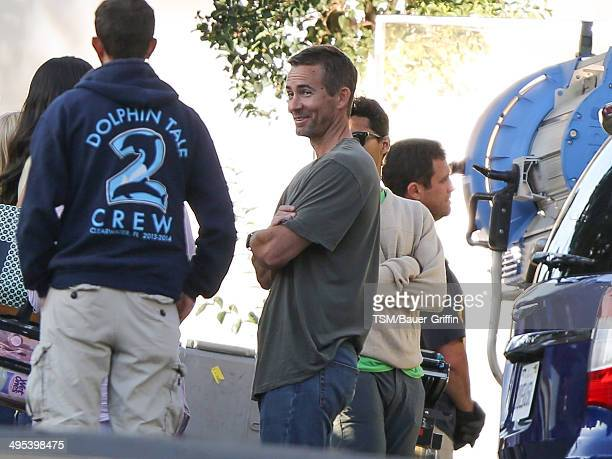 Caleb Walker is seen filming 'Fast Furious 7' on June 02 2014 in Los Angeles California