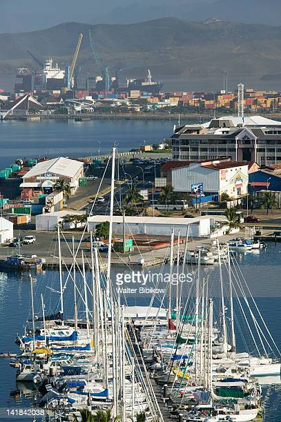 NEW CALEDONIA-Grande Terre Island-NOUMEA: Port Moselle Yacht Harbor / morning
