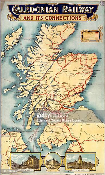 Caledonian Railway poster