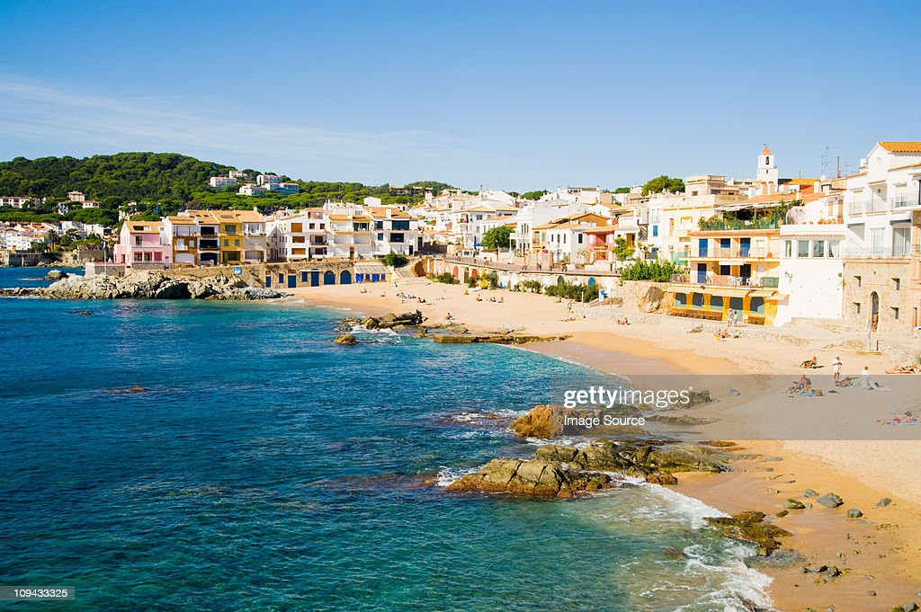 Calella de Palafrugell, Costa Brava, Catalonia, Spain : Stock Photo