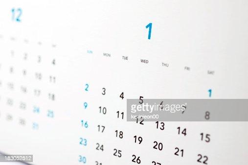 Calendar 2010, 2011 : Stock Photo
